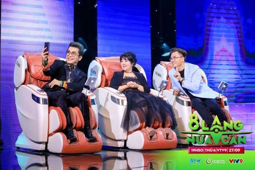 Thương hiệu ghế massage cao cấp OGAWA: Luôn hài lòng về các chủ đề hấp dẫn của chương trình 8 LẠNG NỬA CÂN VTV9.