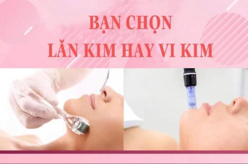 Bạn chọn lăn kim hay vi_kim, MiMi Beauty Spa sẽ góp phần chăm chút làn da tươi trẻ đón xuân cho bạn