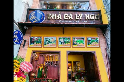 Nhà hàng Chả cá Lý Ngư lưu danh ẩm thực Việt