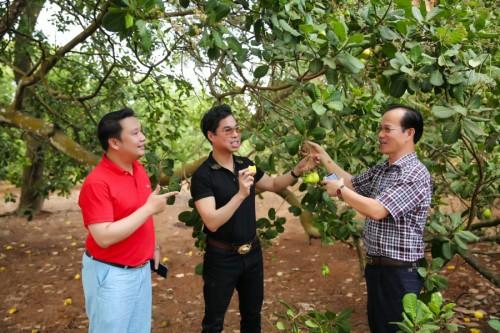 Danh ca Ngọc Sơn thăm vườn 20.000m2 tại Lâm Đồng