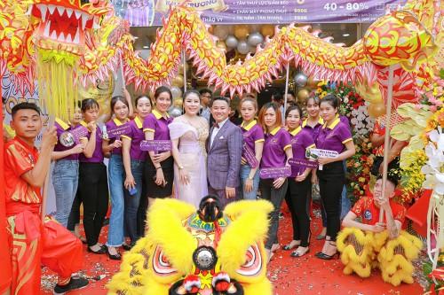 Lễ khai trương chi nhánh mới Học Viện Thẩm mỹ Quốc Tế Thảo Vy – Bước tiến mới vượt bậc trong ngành làm đẹp & đào tạo nhân sự làm đẹp tại Việt Nam