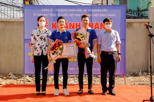 Công ty  Thiên Phú Tài hiến đất mặt tiền làm đường cho người dân