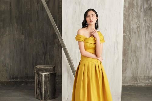 Helly Tống chọn thời trang Neva để xuất hiện nổi bật trong những buổi tiệc