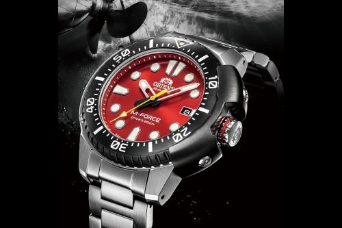 ORIENT giới thiệu một diện mạo khác biệt, độc đáo  cho phiên bản đồng hồ M-FORCE trong Bộ sưu tập đồng hồ thể thao