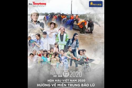 BTC Hoa Hậu Việt Nam 2020 kêu gọi được gần 7,5 tỷ cứu trợ miền Trung