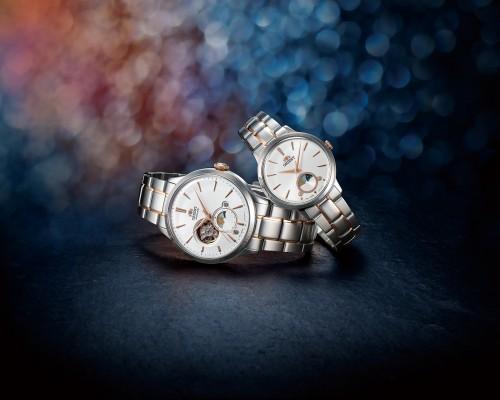 ORIENT Sun & Moon - thiết kế đồng hồ công năng mới  cho cả chàng và nàng