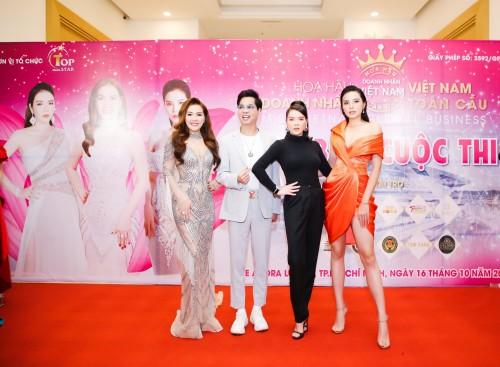Tiết lộ dàn giám khảo đẳng cấp của Hoa hậu doanh nhân Việt Nam Toàn cầu 2020