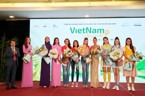 """Khởi động chương trình du lịch thực tế 4.0 lần đầu tiên tại Việt Nam  - """"Đi Việt Nam Đi - Vietnam Why Not"""""""