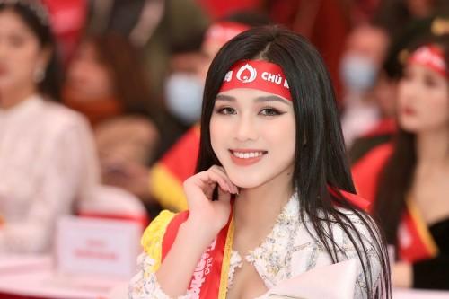 Hoa hậu Đỗ Hà tích cực hưởng ứng các hoạt động hiến máu nhân đạo