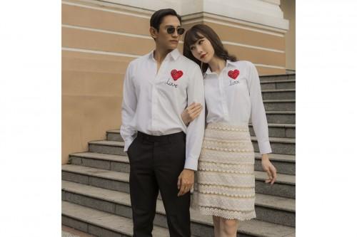 Người mẫu Vio, Nguyễn Bảo Sơn khoe sức hút với thiết kế David Wong