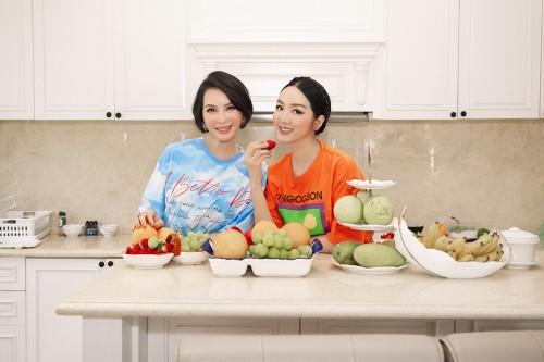 MC Thanh Mai và Giáng My cùng nhau vào bếp   sau 1 năm xa cách