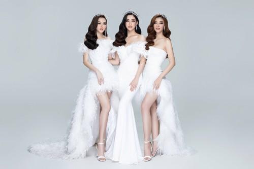 Thùy Linh, Kiều Loan, Tường San: Chia sẻ cảm xúc khi tung bộ ảnh khởi động Miss World Vietnam 2021