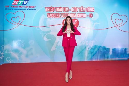 Hoa hậu Khánh Vân đóng góp vào quỹ Chung một tấm lòng chung tay đẩy lùi dịch Covid-19