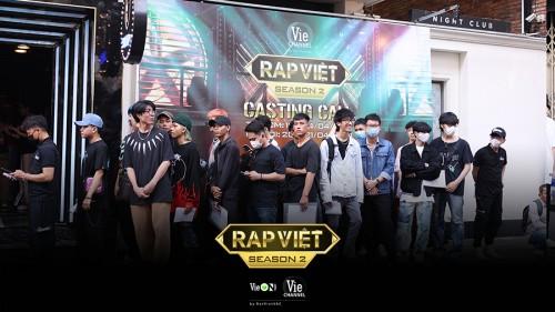 """Cạnh tranh khốc liệt, chỉ mới casting ngày đầu, Rap Việt – Mùa 2 đã quy tụ toàn những """"quái vật' lừng danh trong giới rap"""