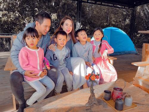 Lý Hải – Minh Hà mừng sinh nhật cho con trai út tại Đà Lạt khẳng định gia đình hạnh phúc vàng
