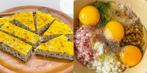 Công thức chả trứng thịt ngon không thua tiệm cơm tấm