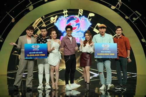 """Clip: Nguyễn Kiều Oanh – Huỳnh Nhu """"chịu thua"""" khi trúng phải chủ đề hát nối về địa danh thế giới tại Đại chiến âm nhạc"""